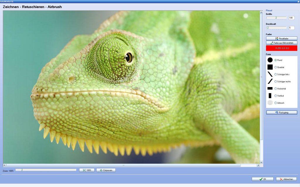 Bildbearbeitungsprogramm Test oder Fotobearbeitungsprogramm Test